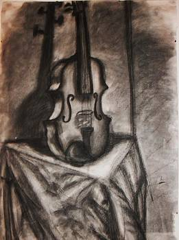 Violin  by Annamaria Shkurti