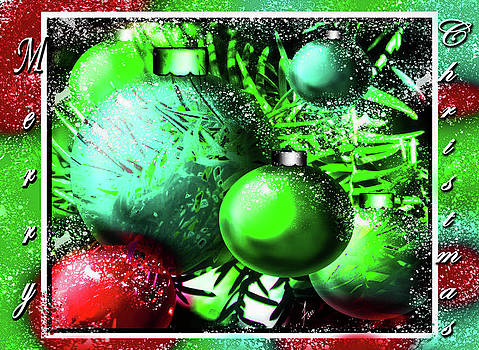 Visions Of Red And Green by Steve Farr