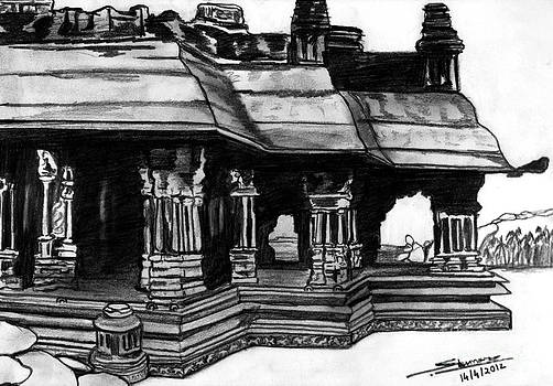Vittala Temple Hampi by Shashi Kumar
