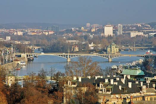 Christine Till - Vltava river in Prague - Tricky laziness