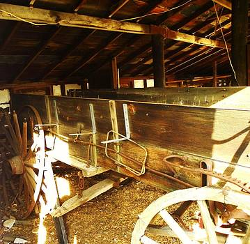 Wagon by Vicky Mowrer