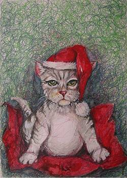 Waiting For Christmas by Brigitte Hintner