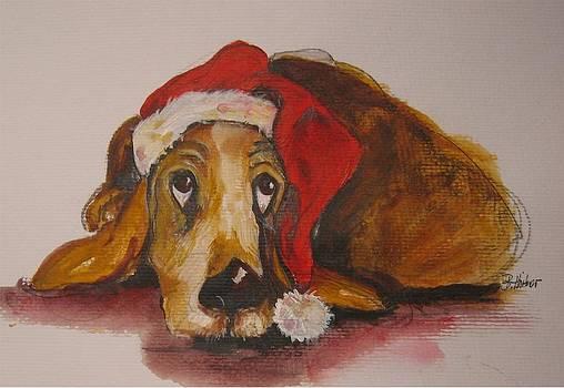 Waiting For Santa Claus by Brigitte Hintner