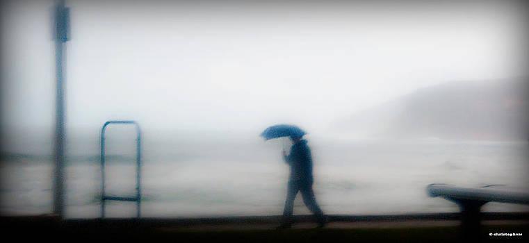 Walking In The Rain by Christoph Mueller
