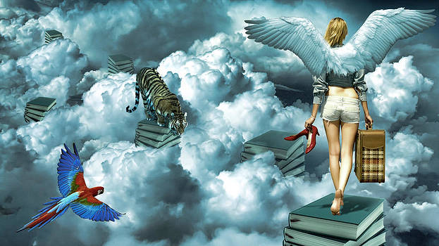 Walking On The Cloud by Ratan Sonal