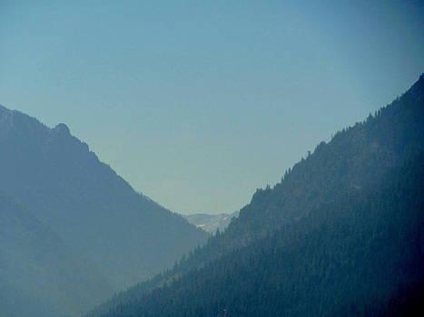 Wallowa Mountains View by Amy Bradley