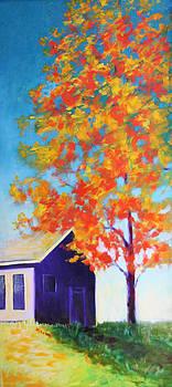 Warm Day in Fall by Karin Eisermann