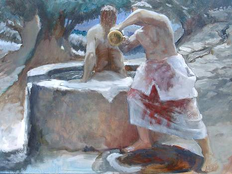 Washing Away the Blood by Larry Christensen