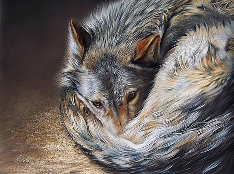 Watchful Rest by Elena Kolotusha