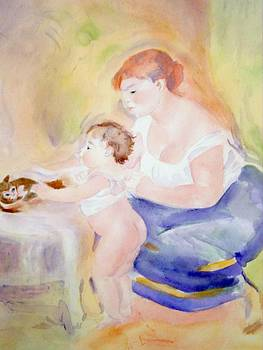 Watching Baby by Nancy Pratt