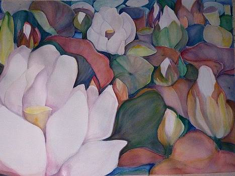 Water Lilies by Margaret Pirrouette