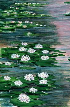 Water Lily Pads by Steven W Schultz