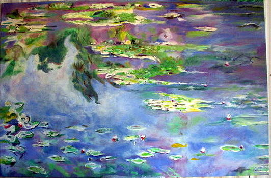 Water Lily Pond by John Sowley