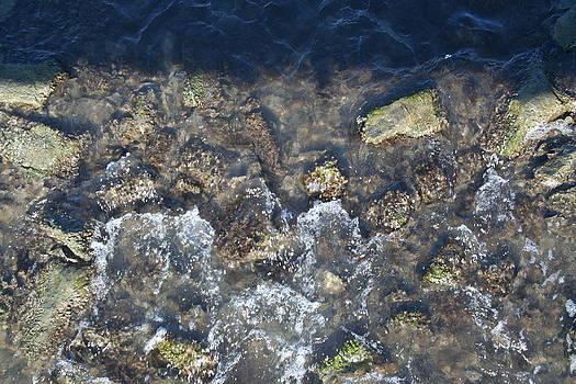 Water on Rocks by Stephen Melcher