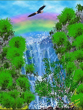 WaterFall by Diane Haas