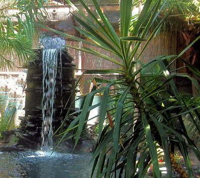 Waterfall by Juliana  Blessington