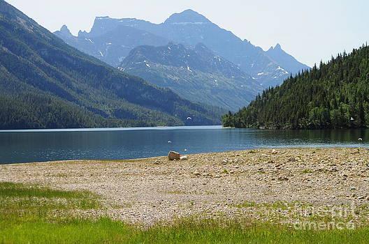 Waterton Lake BC by Diana Nigon