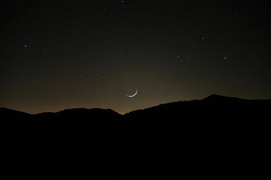 Waxing Moon by Donnie Smith