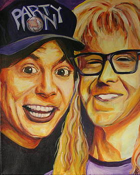 Wayne and Garth by Kate Fortin