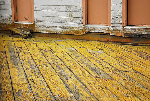 Weathered Monterey Building by Shane Kelly
