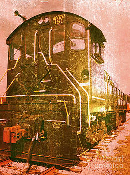 Western Railroad in Middletown Pennsylvania by Kevyn Bashore