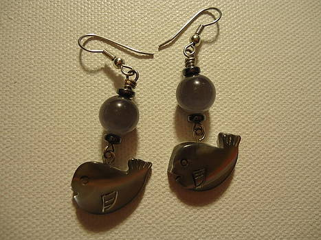 Whale Around Earrings by Jenna Green