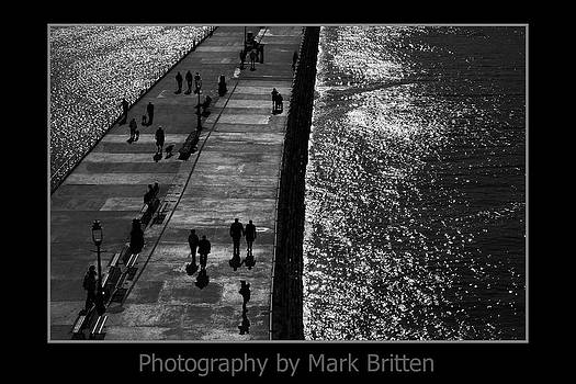 Whitby Harbour by Mark Britten