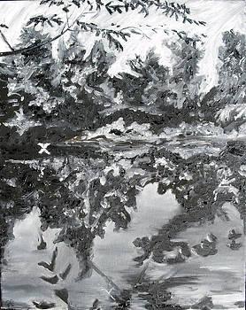 White Crane by Hannah Curran