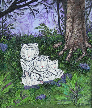 White Lions by Ann Iuen
