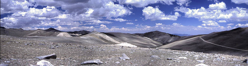 White Mountains Looking East Panorama Larry Darnell by Larry Darnell
