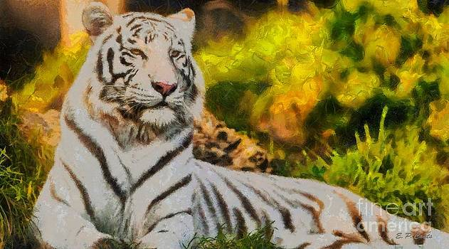 White Tiger by Elizabeth Coats