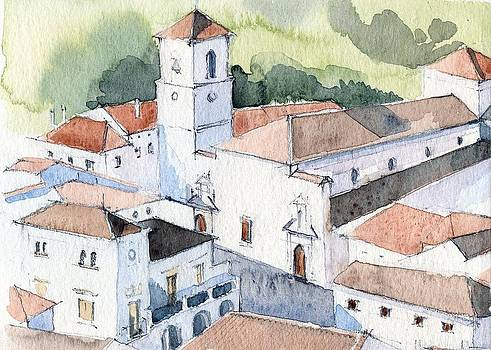 White Village by Stephanie Aarons