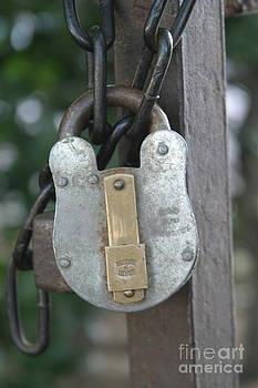 Whitehall Garden Lock by James Thomas