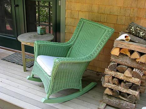 Wicker Chair by Julia Jones