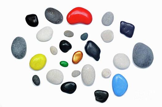 Sami Sarkis - Wide choice of colorful pebbles