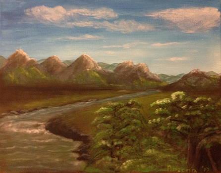 Wild River by Bozena Zajaczkowska