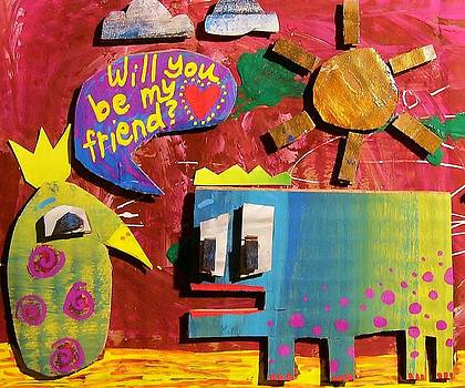 Will you be my Friend by Nancy Mitchell