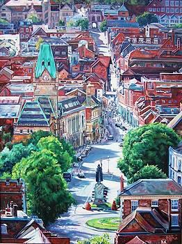 Winchester High street by Peter Zuffa
