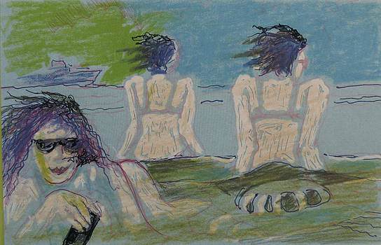 Wind and the Beach by Walter Clark