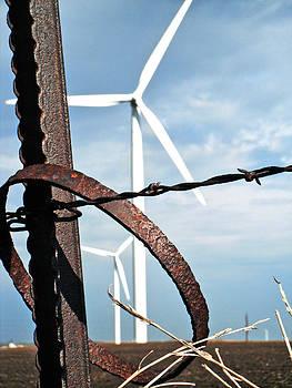 Jon Baldwin  Art - Wind Farm Iowa Falls Iowa