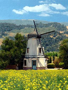 Kurt Van Wagner - Windmill at Mission Meadows Solvang