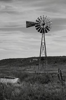 Windmill On The Plains by Jason Drake