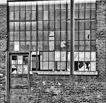 Chuck Kuhn - Window BW