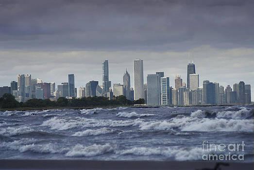 Windy city by Jim Wright
