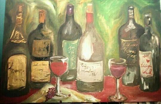 Wine  by Lindsey Jackson