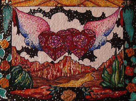 Winged Hearts by Dede Shamel Davalos