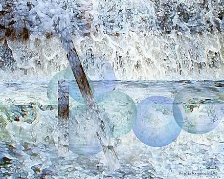Winter Abstract I by Brigetta  Margarietta