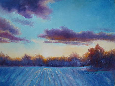 Winter Glow by Holly LaDue Ulrich