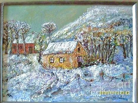 Winter landscape by Ilona  Pincse