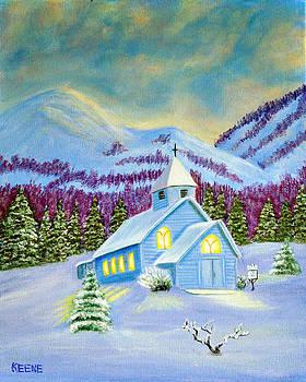 Winter light by Jeanette Keene